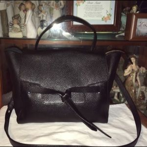 Like New Annabel Ingall Leather Cross Body Bag